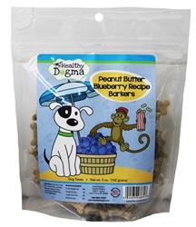 Healthy Dogma - Peanut Butter Blueberry Mini Bones 5 oz Bag