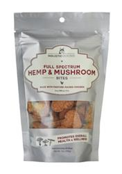 Full Spectrum Hemp and Mushroom Bites with Organic Chicken, 7 oz bags (40 bites/bag)