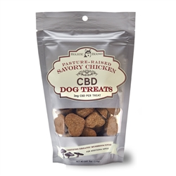 CBD Chicken Flavor Dog Treats, 7 oz bags (40 treats/bag)