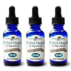 Full Spectrum PCR Hemp Oil - 1 oz bottles