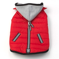 Stowe Puffer in Red