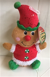 "10"" CHRISTMAS PLUSH ELF"