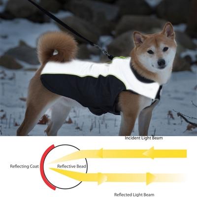 Nano Breaker All-Season Jacket, Black & Grey w/Yellow Piping