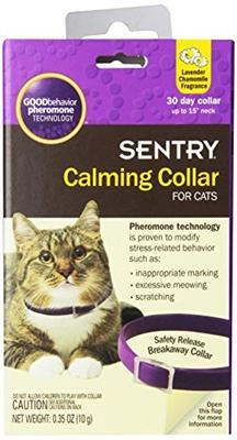 SENTRY HC GOOD BEHAVIOR PHEROMONE COLLAR CAT 15IN