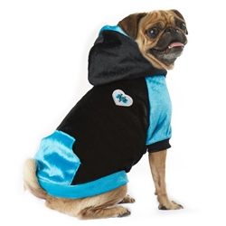 VP Pets Blue/Black Fleece Hoodie