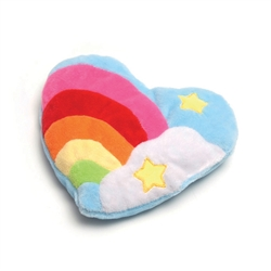 Bavarian Cat Toy - Colorful Heart w/Rainbow