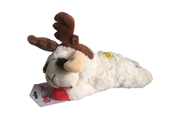 MULTIPET LAMB CHOP HOLIDAY TOY WITH ANTLERS