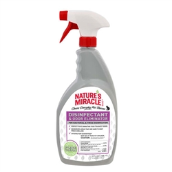 NATURE'S MIRACLE DISINFECTANT ODOR ELIMINATOR CAT 32OZ