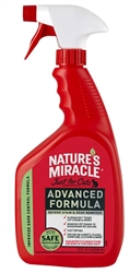 NATURE'S MIRACLE JUST FOR CATS ADVANCED STAIN AND ODOR REMOVER 32OZ