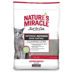 NATURE'S MIRACLE INTENSE DEFENSE CLUMPING LITTER 40LB