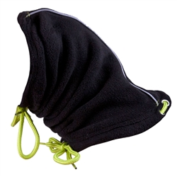 Summit Snood Black/Lime