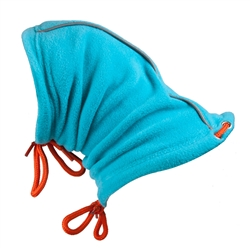 Summit Snood Teal/Orange