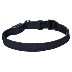 Solid Black ORION LED Dog Collar