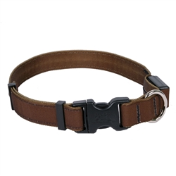 Solid Brown ORION LED Dog Collar