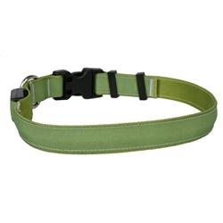 Solid Olive ORION LED Dog Collar