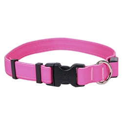 Solid Pink ORION LED Dog Collar