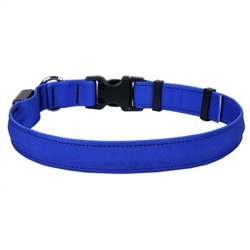 Solid Royal Blue ORION LED Dog Collar