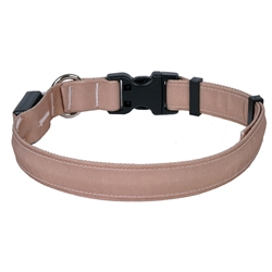 Solid Tan ORION LED Dog Collar