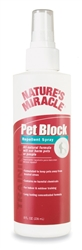 NATURES MIRACLE PET BLOCK REPELLENT SPRAY 8OZ