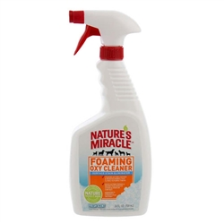 NATURE'S MIRACLE FOAMING OXY CLEANER FRESH SCENT 24OZ