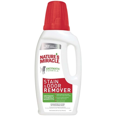 NATURES MIRACLE ORIGINAL STAIN & ODOR REMOVER 32OZ