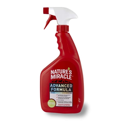 NATURES MIRACLE ADVANCED STAIN & ODOR REMOVER TRIGGER SPRAY 32OZ