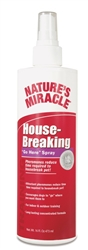NATURES MIRACLE HOUSEBREAKING GO HERE SPRAY 8 OZ