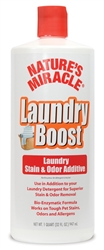 NATURES MIRACLE LAUNDRY BOOST STAIN & ODOR ADDITIVE 32OZ