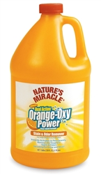 NATURE'S MIRACLE ORANGE OXY STAIN & ODOR REMOVER 128 OZ