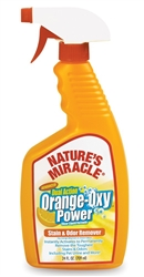 NATURES MIRACLE ORANGE OXY STAIN & ODOR REMOVER TRIGGER SPRAY 32OZ