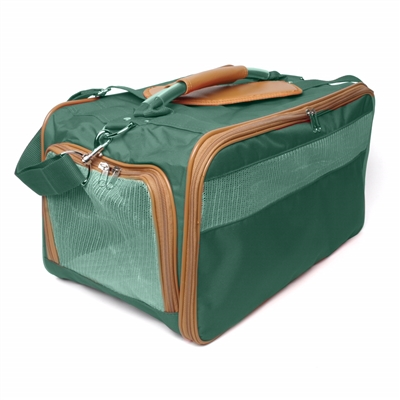 Hunter Green/Saddle Classic Carrier