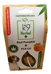 Advance Pet Product K9 Herbal+ Real Pumpkin + CBD Oil Dog Treats