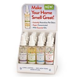 Pet House Freshening Room Spray Display - Seasonal