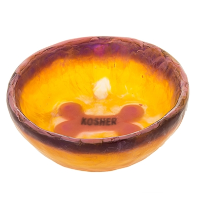 Translucent Dog Bowl