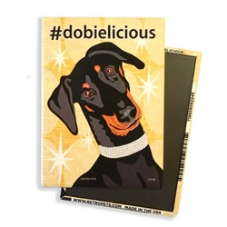 Doberman - #dobielicious MAGNETS