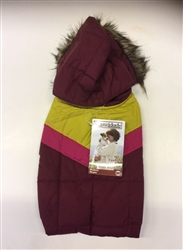 RAINBOW PARKA / CRANBERRY