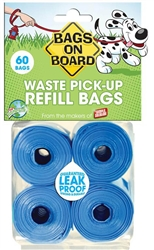 BAGS ON BOARD BLUE BAG REFILL PACKS