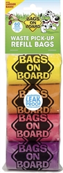 Bags On Board Rainbow Bag Refill Packs
