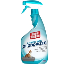 Simple Solution Simple Solution Cat Litter Box Deodorizer Spray Bottle, 32 oz