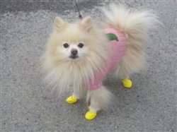 PAWZ DOG BOOTS EXTRA EXTRA SMALL YELLOW