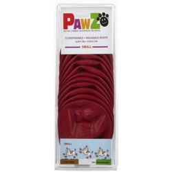 PAWZ DOG BOOTS SMALL RED