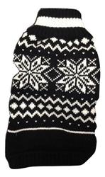 Snowflake Sweater Black