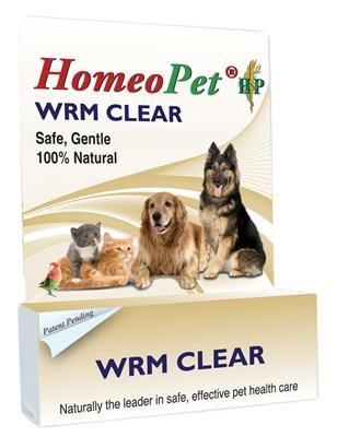 HOMEOPET WORM CLEAR BOTTLE 15ML