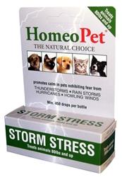 HOMEOPET PRO STORM STRESS K9 OVER 80LB BOTTLE 15ML