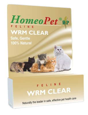 HOMEOPET FELINE WORM CLEAR 15ML