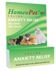 HOMEOPET FELINE ANXIETY 15ML