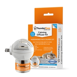 ThunderEase Cat Calming Diffuser Kit W/1 Refill