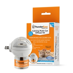 ThunderEase Multi-Cat Calming Diffuser Kit W/1 Refill