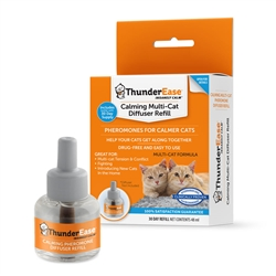 ThunderEase Calming Refill for Multi-Cat Diffuser (1 Month Supply)