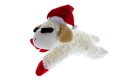 "MULTIPET 6"" MINI LAMB CHOP WITH SANTA HAT"